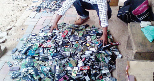 Developing World Overtake in e-waste