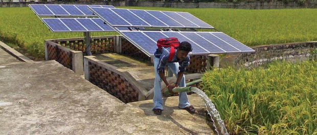 Fitting Solar Photovoltaics in the Indian Power Sector