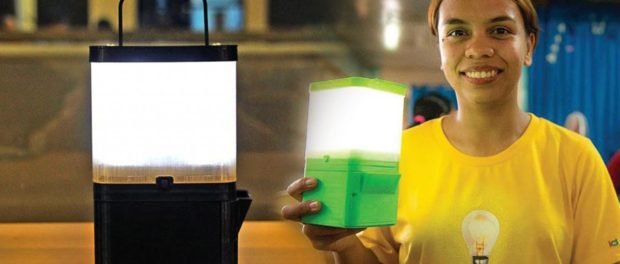 Philipino Girl Invents Salt-water Lantern