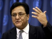 Mr. Rana Kapoor, CEO of the Yes Bank of India, answers questions at a news conference 24 September 2007 at the United Nations in New York. Kapoor is at the UN to attend the meeting on Climate Change. AFP PHOTO/DON EMMERT (Photo credit should read DON EMMERT/AFP/Getty Images)