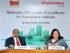 Dr. Ajay Mathur, Director General, TERI & Anita Arjundas, Managing Director, Mahindra Lifespace Developers Ltd. announce the establishment of the Mahindra TERI CoE for Sustainable Habitats