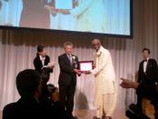 Award ceremony held in Tokyo on Sunday, 29th May, 2016. Sri Madhu Pandit Dasa, Chairman of The Akshaya Patra Foundation, received the award. https://www.iskconbangalore.org/akshaya-patra-wins-nikkei-asia-prizes-japan/