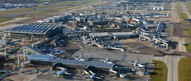 Heathrow & Gatwick World's  Most Sustainable Airports