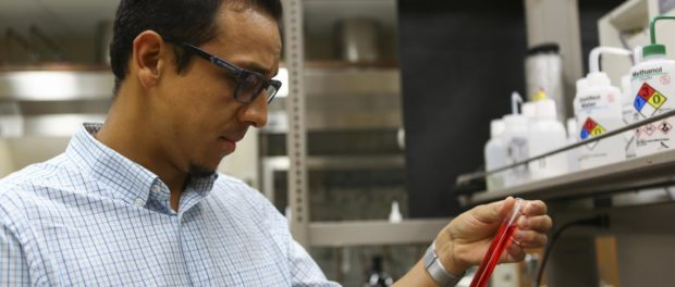 Prof. Invents Way to Trigger Artificial Photosynthesis