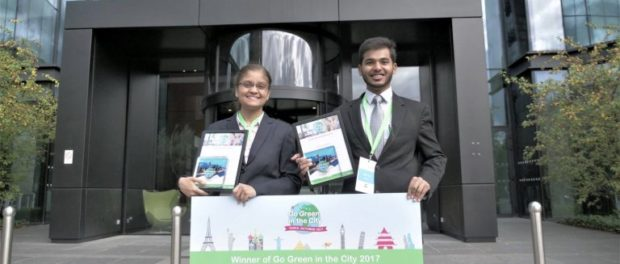 Nimisha Gupta & Raja Jain Win Schneider  Electric's Global Student Award