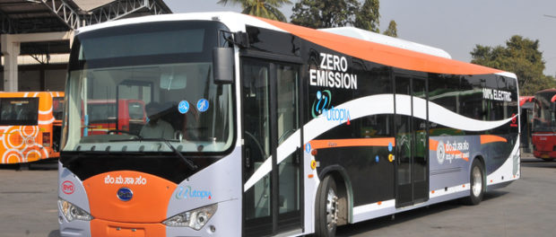 Plan for E-Bus in Bengaluru