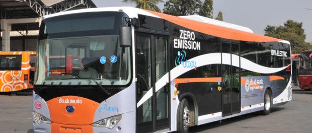 Plan for E-Bus in Bengaluru