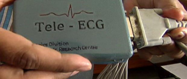 BARC Develops Credit card-size  ECG Machine For Rs 4000